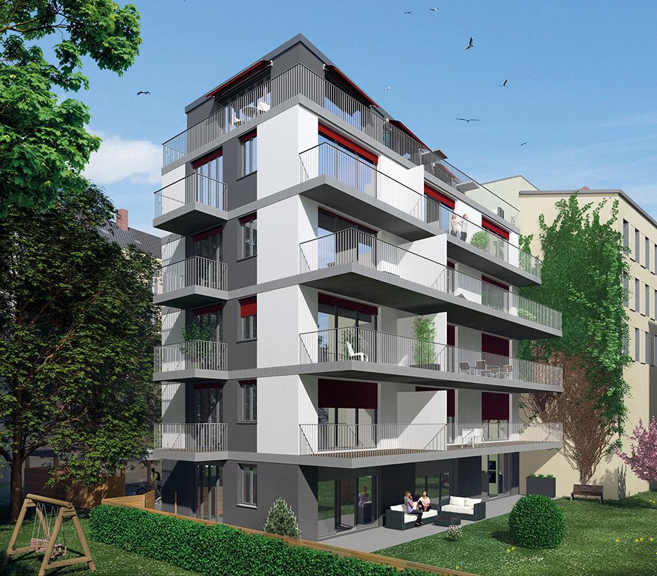 Architekturrendering Rungestr. 13