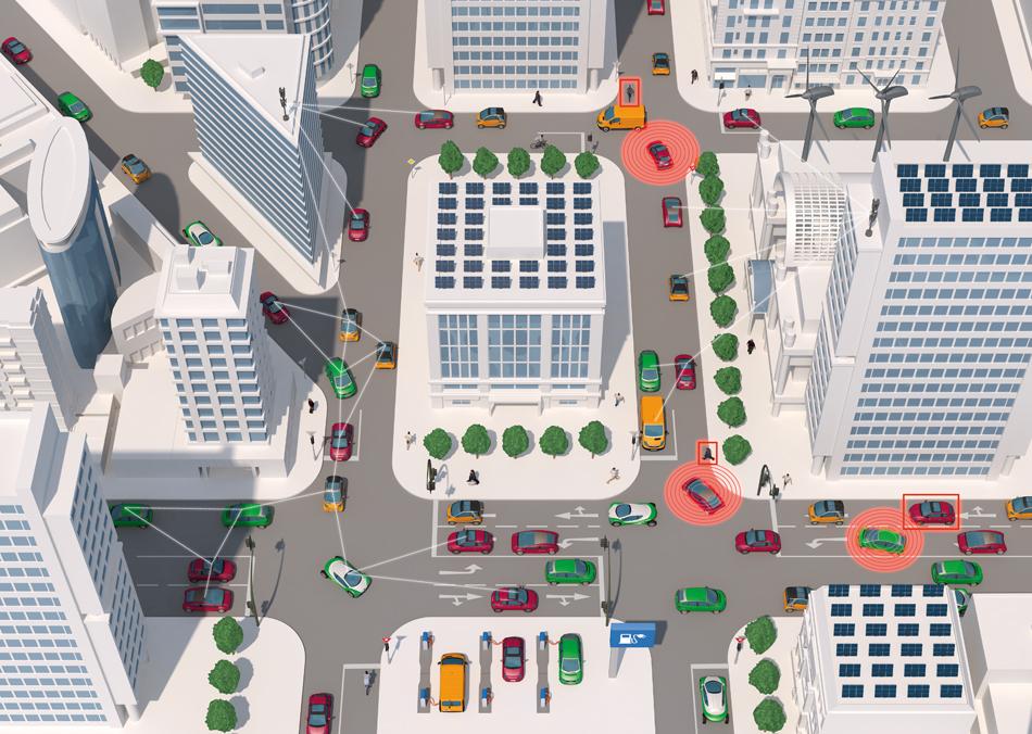Infografik Smart Mobility