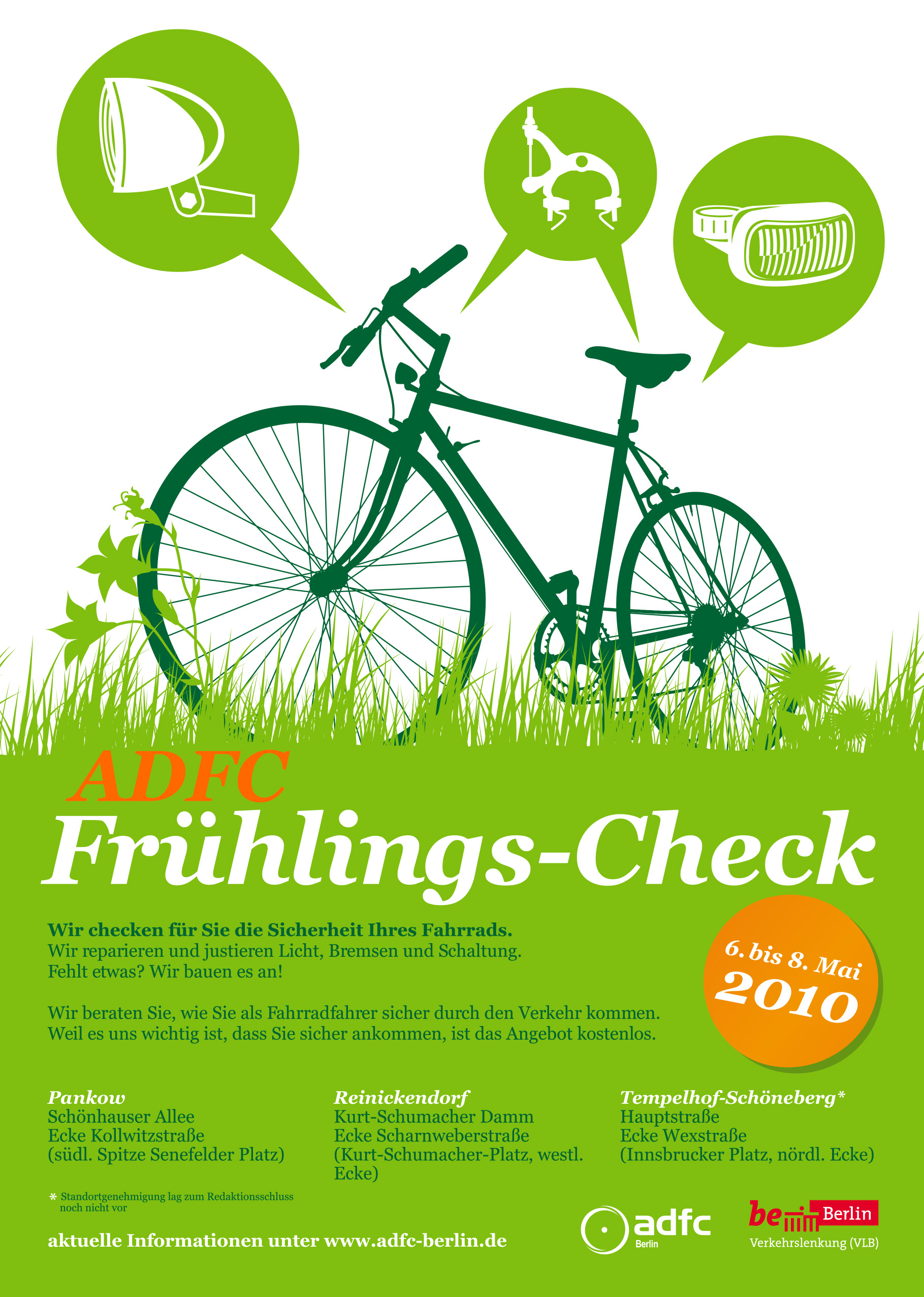 Illustration ADFC Frühlingscheck