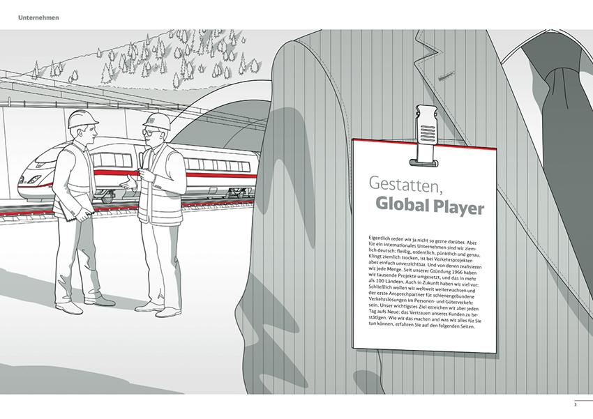 Illustration Tunnelbau